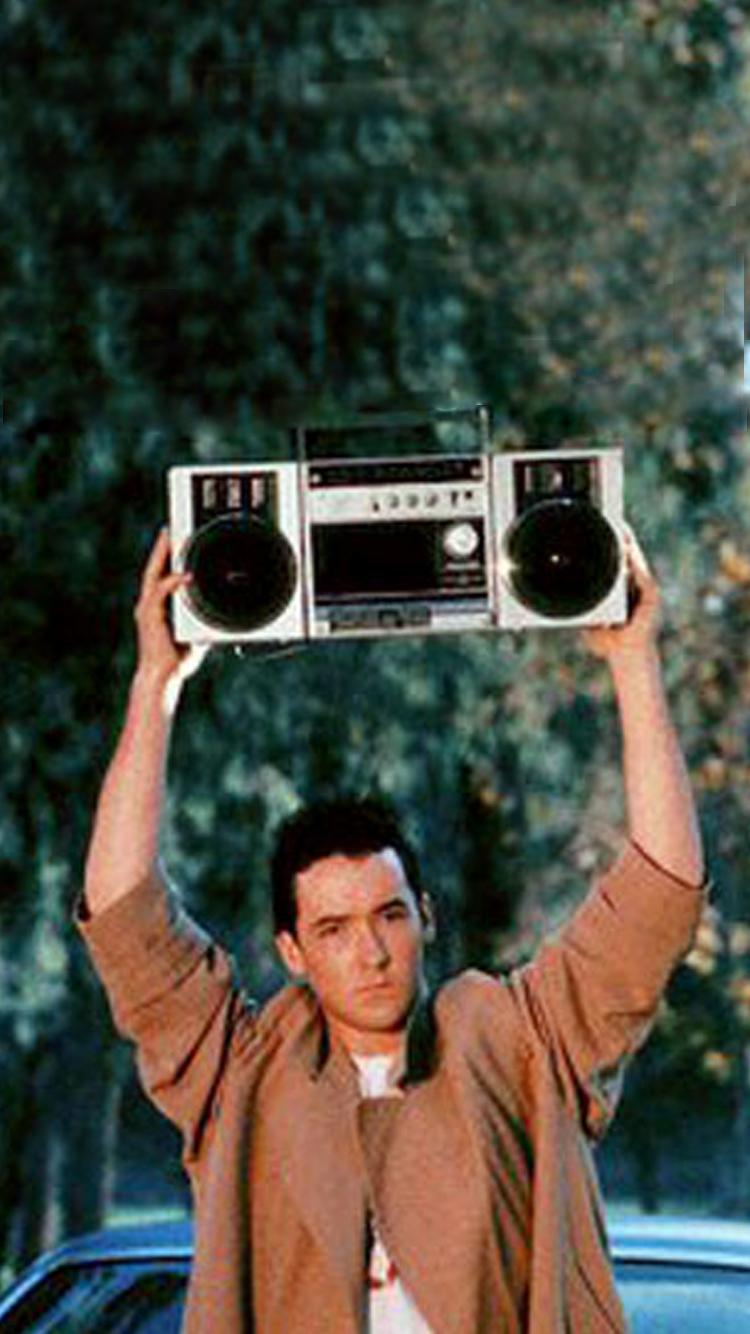 john cusack boombox iphone wallpaper