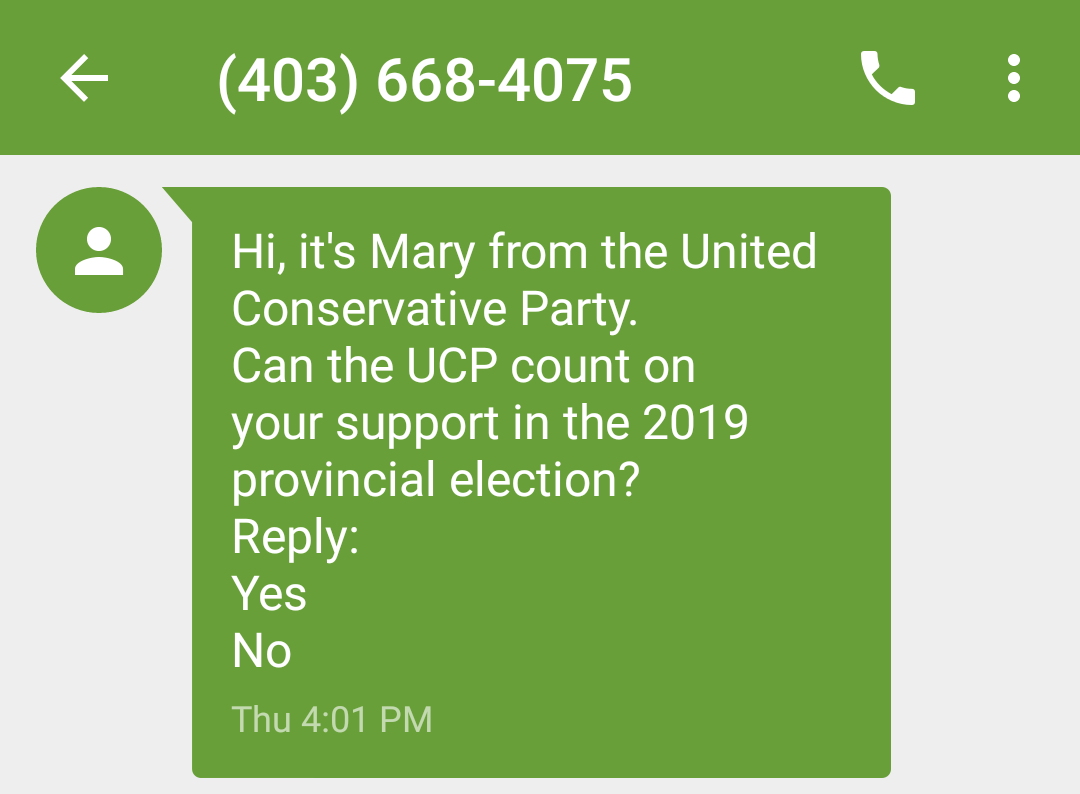 What to do when you receive SMS spam in Canada